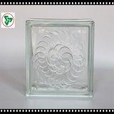 Baksteen van het Glas van de Schaduw van het ijs de Duidelijke - het Blok van het Glas