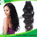 100%のブラジル人ボディ波のバージンの毛、Remyのミンクの人間の毛髪の拡張