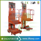Plataforma vertical automática de la elevación de la soldadora del hombre