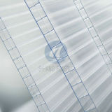 紫外線の3壁Triple Wall Polycarbonate Plastic Sheet