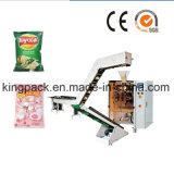A alta qualidade lasca a máquina da maquinaria de enchimento/do acondicionamento alimentos do petisco