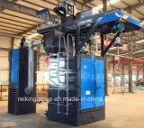 熱い販売法の高性能のホックのタイプショットブラスト機械