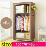 De eenvoudige Kabinetten die van de Opslag van de Baby van de Garderobe van de Doek de Individuele Kleine Garderobe van het Staal vouwen (fw-24)