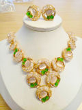 Africanos de Moda juegos de joyas chapado en oro Joyería Wholesales Set