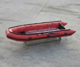 Aqualand 16.5フィートの5mの膨脹可能なゴム製レスキューモーターボート(aql500)