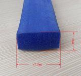 Esponja de silicona resistente al agua tira de la junta de goma