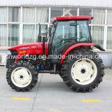 Tipo trattore agricolo della risaia della motrice a quattro ruote di 70HP