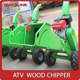 Desfibradora Chipper/de madera grande de las ramificaciones de árbol del motor de gasolina de la potencia 13.5-15HP