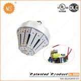 LEDの短い庭ライト30W E40 E27 LEDランプ100W HPSの改装