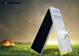 90W IP65 전화 APP 통제 Sunpower LED 태양 가로등
