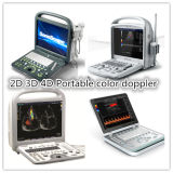 ultrasonido portable de Doppler del color de 3D 4D del fabricante