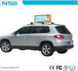 P2.5 P3 P5 IP65 LED Digital Ecrã de publicidade para táxi do Teto Superior