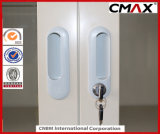 De Containers van de Opslag van het Metaal van de Archiefkasten van het staal met Kast cmax-FC04-001 van de Deur van het Glas