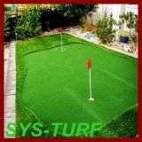 Putting green de golfe relva artificial para o aterramento no quintal
