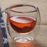 Material de vidro para chá Chá de vidro caneca de chá de vidro Pyrex, filtro de parede dupla xícara de chá