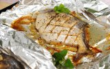алюминиевая фольга домочадца качества еды 1235 0.010mm для рыб Roasting