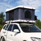 Fibra de vidro Hard Shell tenda no último piso para viagem Camping