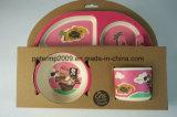 Bambusfaser-Abendessen-Set, Kind-Tafelgeschirr-Set, Kind-Essgeschirr-Set