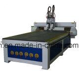 Ranurador principal multi neumático del sistema CNC, ranurador de madera 3D automático, ranurador del CNC del CNC del Atc con 4 el eje 1530 rotatorio