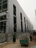 Painéis de parede exterior do plutônio do poliuretano