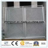 6FT x 12FT для панели загородки строительной площадки звена цепи