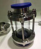 衛生ステンレス鋼の三クローバーによって締め金で止められるサイトグラス