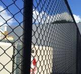 Enduit de PVC Baseball Sports de la sécurité de Wire Mesh Clôture de maillon de chaîne