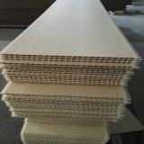 Panneaux de mur en plastique en bois d'intérieur du composé WPC pour la décoration de mur