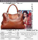 Décoration en métal sur le sac chaud de créateur de vente de qualité de mode de traitement (WDL0280)