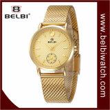 Wristwatch стали женщин батареи кварца дела способа Belbi водоустойчивый