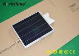 Sensor PIR LED de Energía Solar de la luz de la calle con Grupo Solarworld