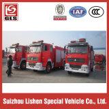 HOWO Fire Truck 6X4 Drive, 12000L, 290/300 / 336HP Moteur diesel