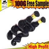 Волосы Fumi расширений с бразильским волос человека