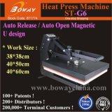 St-G6 libération automatique automatique/Auto Design magnétique ouvert U T-shirts, appuyez sur la machine de transfert de chaleur