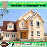 El cemento moderno de la espuma 2 dormitorios prefabricó el hogar modular de la casa prefabricada de las casas