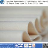 Nichtgewebte Nadel gelochtes Filter-Wasser und Öl abstoßende PPS-Staub-Filtertüte für Industrie