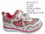 3 ботинка спорта размера малышей цветов малых