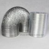Conducto de la lámina de aluminio flexible para la transferencia