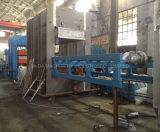 Gummi geformte Waren-Blatt-Matten-hydraulische vulkanisierenpresse-Maschine