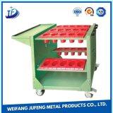 Soem-Blatt, das Metalteil-Garage-Hilfsmittel-Schrank mit Fächern stempelt
