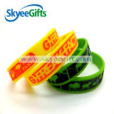 Braccialetti o Wristbands liberi su ordine del silicone di disegno di modo