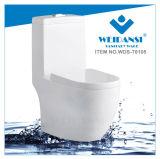 يغسل [ويدنس] خزفيّ إلى أسفل [س-ترب] أحد قطعة مرحاض ([ودس-ت6105])