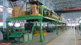 バッチオフ・ラインのゴム製シートの冷却機械