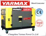 Groupe électrogène diesel silencieux refroidi à l'eau de Yarmax9.5kVA 10kVA
