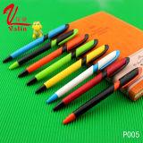 공급 고품질 인기 상품에 다채로운 볼펜 선전용 플라스틱 펜
