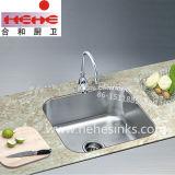 Bassin de cuisine d'acier inoxydable, bassin de barre, bassin de lavage (3833)