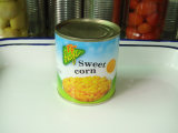 Núcleo de maíz dulce conservado pequeño embalaje en 184G
