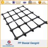 Plastica pp Bx Geogrid per stabilizzazione del suolo