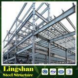 長い生命大きいスパンの構築の長いスパンの鉄骨構造の工場