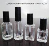 Bottiglia di vetro vuota del polacco di chiodo del quadrato all'ingrosso di alta qualità